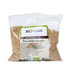 Pan Rallado Integral Bio, Bionsan (250g)  de BIONSAN, S.C.C.L.