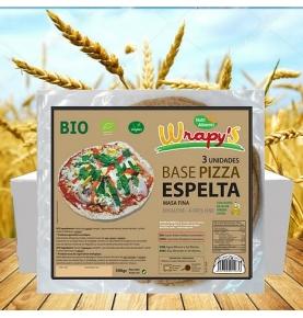 Base Pizza de Espelta Bio, Wrapy´s (130g)  de Nutri Aliments