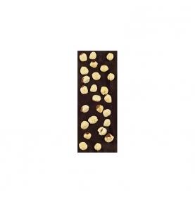 Chocolate Negro 74% Cacao con avellanas bio, Sabor Andaluz (100g)  de Chocolates La Virgitana - Sabor Andaluz