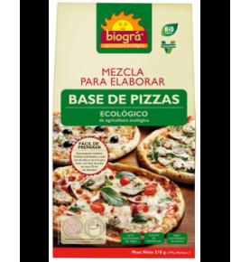 Mezcla para base de pizzas Bio, Biográ (510g)  de Biográ