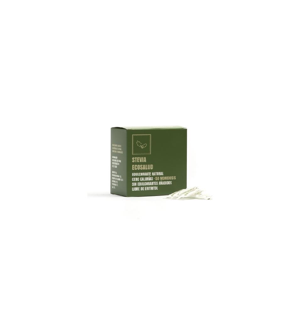 Stevia Pura 12% concentración , Stevia Ecosalud (50 Monodosis)  de Alnaec y Ecosalud