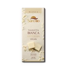 Chocolate blanco vegano bio, Sarchio (80g)  de Sarchio