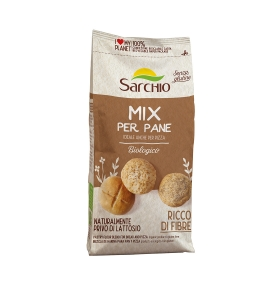 Mezcla para pan, pizza y focaccia sin gluten bio, Sarchio (500g)  de Sarchio