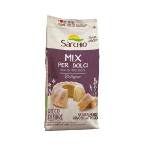 Mezcla de harina para tartas sin gluten bio, Sarchio (500g)  de Sarchio