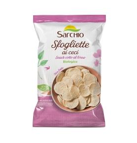 Snack a base de garbanzo bio, Sarchio (50g)  de Sarchio