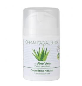 Crema facial de día de Aloe Vera Bio, Equimercado (50ml)  de EquiMercado