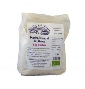 Harina integral de Arroz Sin Gluten Bio, Rincón del Segura (1kg)  de Rincón del Segura