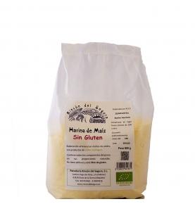 Harina integral de Maíz Sin Gluten Bio, Rincón del Segura (800g)  de Rincón del Segura