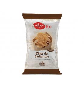 Chips de garbanzos bio, El Granero Integral (80g)  de El Granero Integral