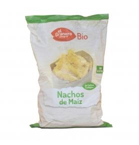 Nachos de maíz Bio, El Granero (125g)  de El Granero Integral