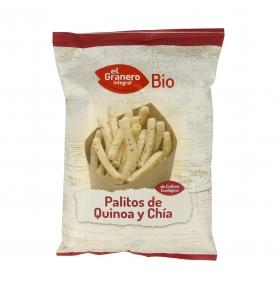 Palitos de quinoa y chia bio, El Granero Integral (75g)  de El Granero Integral