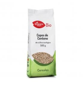 Copos de centeno bio, El Granero Integral (500g)  de El Granero Integral