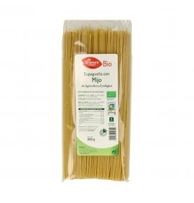 Espaguetis con Mijo Bio, EL Granero Integral (500g)  de El Granero Integral
