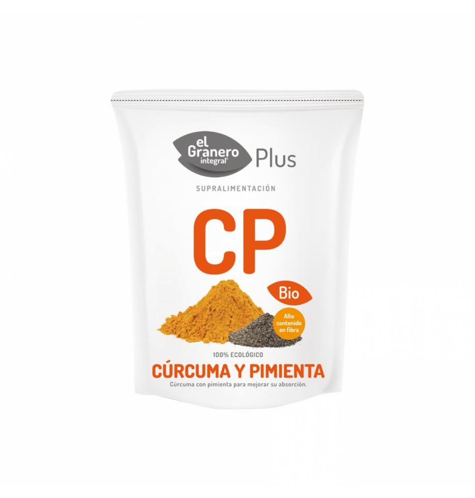 Cúrcuma y pimienta Bio, El Granero Integral (200g)  de El Granero Integral