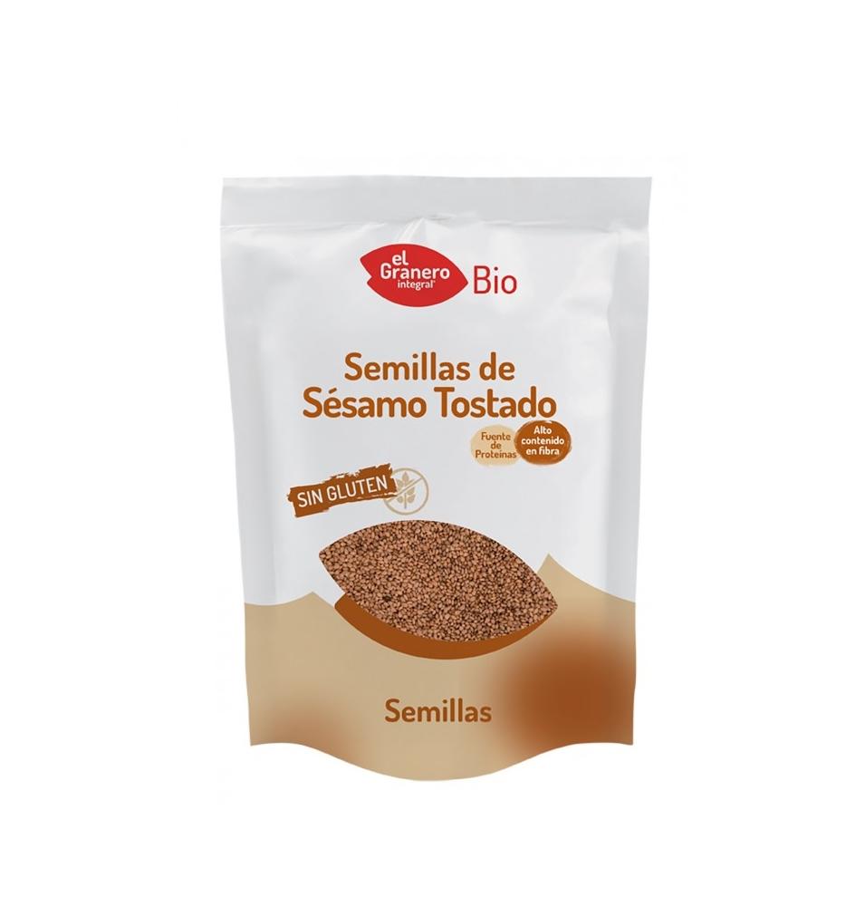 Semillas de sésamo tostado Bio, El Granero Integral (250g)  de El Granero Integral