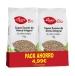 Pack ahorro de Copos suaves de avena integral bio, El Granero Integral (2x1kg)