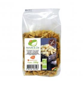 Cereales Rellenos de Chocolate y Avellanas sin gluten Bio, Nature & Cie (250g)  de El Granero Integral