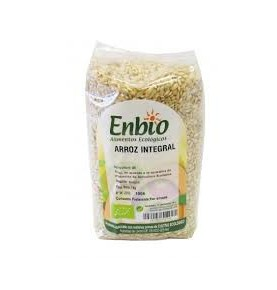 Arroz integral redondo Bio, Enbio (1 kg)  de Gumendi