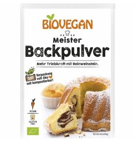 Levadura para Reposteria Bio, Biovegan (3 sobres x17g)  de Biovegan