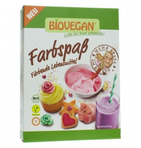 Colorante Natural Bio, Biovegan (8x5g)  de Biovegan
