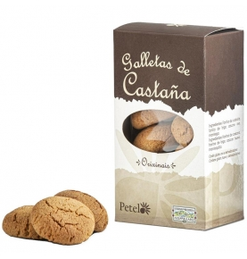 Galletas de Castañas, Petelo (180g)  de Petelo