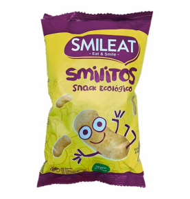 Snacks de Maiz Gusanitos Smilitos Bio, Smileat (38g)  de Smileat