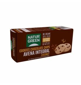 Cookie de Avena Integral con Coco y chips de chocolate Bio, NaturGreen (140g)  de NaturGreen