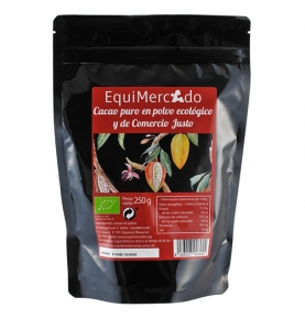 Cacao en polvo 100% cacao sin azúcar Bio, Equimercado (250g)  de EquiMercado