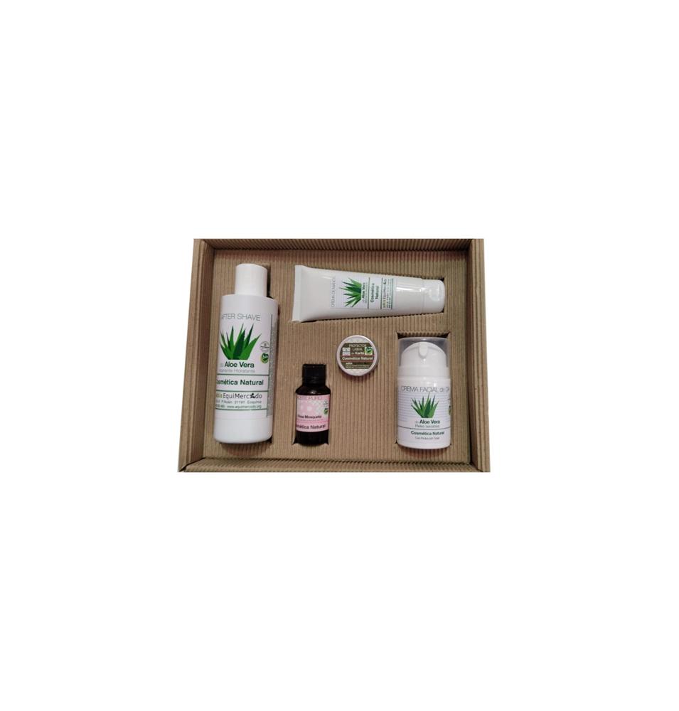 Pack Regalo de Cosmética de Aloe Vera especial hombre Bio, Equimercado  de EquiMercado