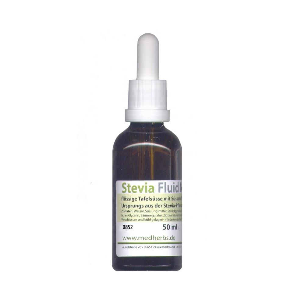 Estevia Fluid Nova, Med Herbs (50ml)  de Med Herbs