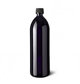 Botella de vidrio violeta, Miron Violett Glas (500ml-1litro)  de Miron Violett Glas