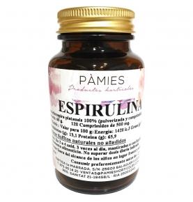 Espirulina Bio, Pàmies Vitae (120 comprimidos)  de Pàmies vitae