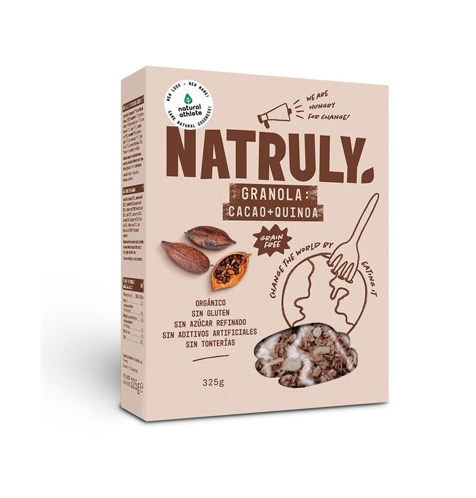 Granola de cacao y quinoa Bio, Natruly (325g)  de Natruly