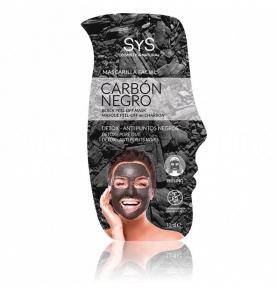 Mascarilla Facial Peeling Carbón Negro, Laboratorio SYS (10ml)  de Laboratorio SyS
