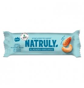 Barrita energética de almendra y anacardo Bio, Natruly (40g)  de Natruly