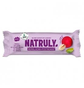 Barrita energética de remolacha y pistachos Bio, Natruly (40g)  de Natruly