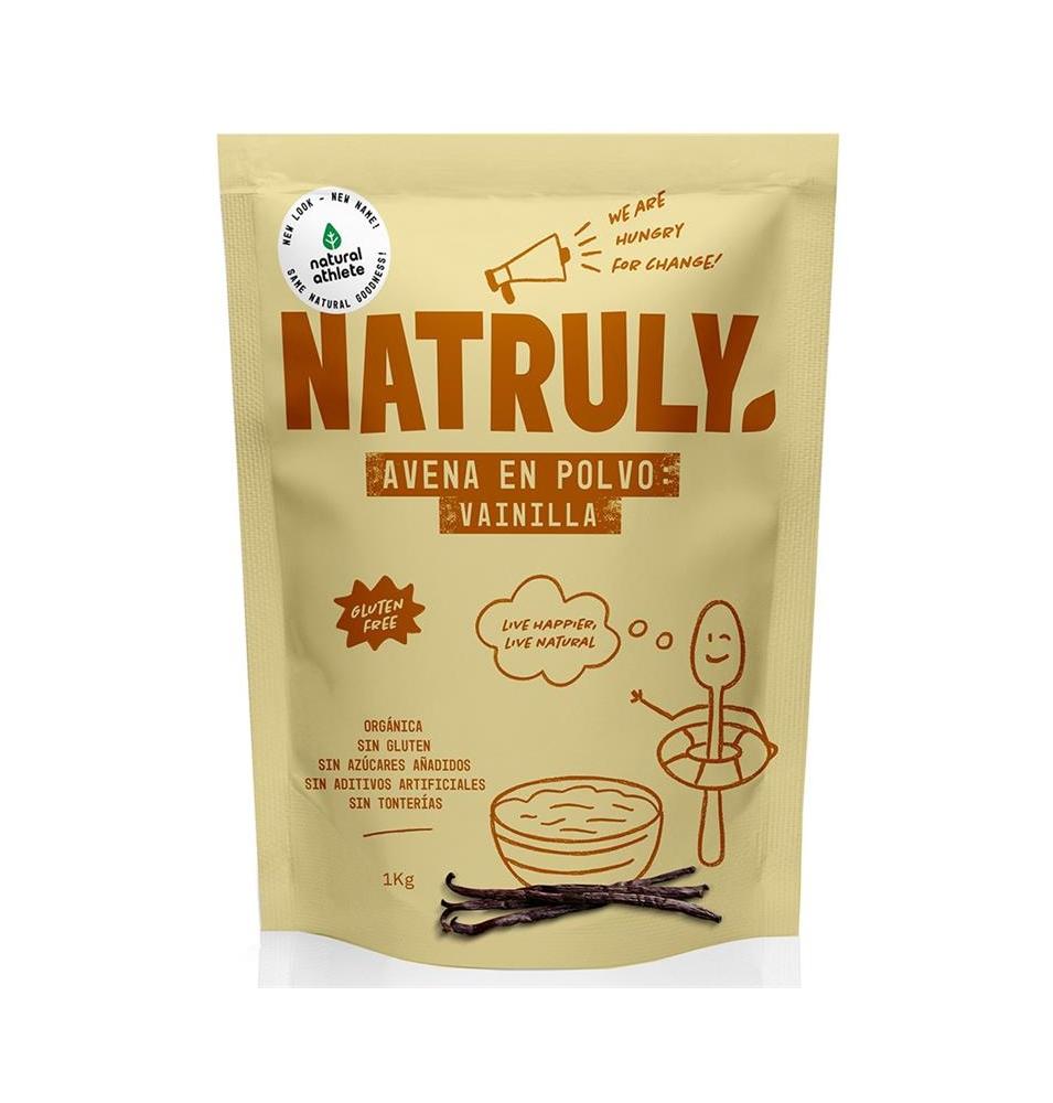 Avena en polvo vainilla Bio, Natruly (1kg)  de Natruly