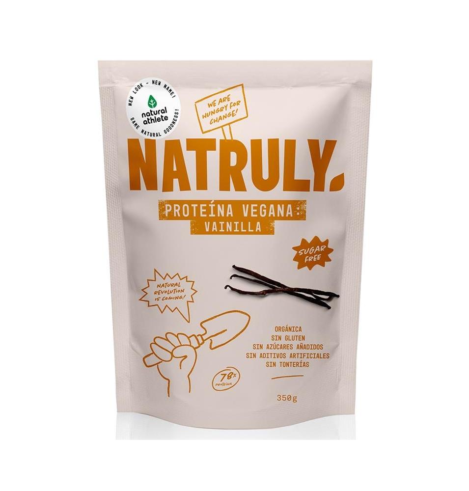 Proteína vegana sabor vainilla Bio, Natruly (350g)  de Natruly