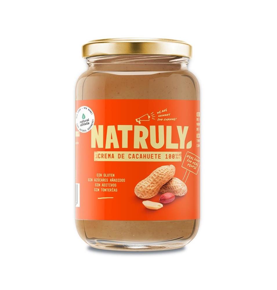 Crema de Cacahuete Natural, Natruly (500g)  de Natruly