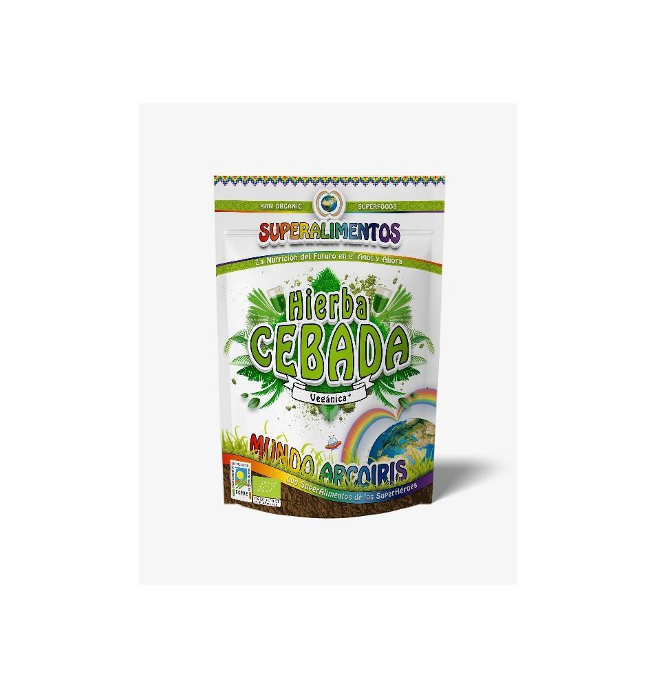 Hierba de cebada Bio, Mundo Arcoiris (250g)  de SuperAlimentos Mundo Arcoiris