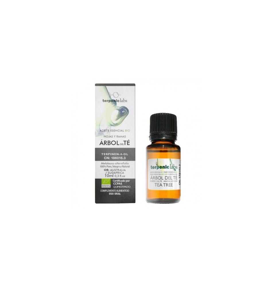 Aceite esencial árbol del té Bio, Terpenic Labs (10 ml)  de Terpenic Labs