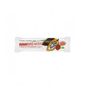 Barrita Raw avena germinada con fresa-cacao eco, Simply Raw  de Simply Raw