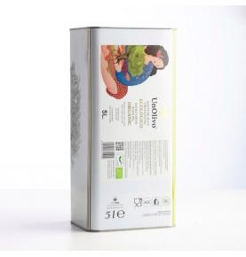 Pack Ahorro de Aceite de Oliva Virgen Extra Bio, Un Olivo (2x5l Lata)  de UNOLIVO