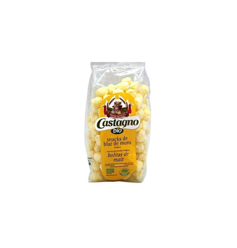 Snacks bolitas maíz y trigo sarraceno Bio, Castagno  de Castagno Bruno