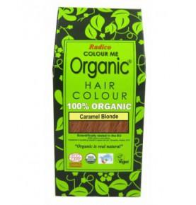 Tinte cabello vegetal rubio caramelo de Radico 100g  de Radico