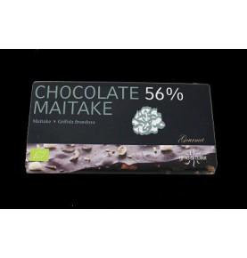 Chocolate 56% con maitake Bio Hifas da Terra  de Hifas da Terra