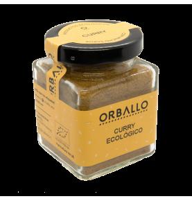 Curry ecológico, Orballo (48g)  de Orballo