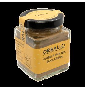 Canela molida ecológica, Orballo (45g)  de Orballo
