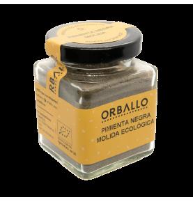 Pimienta negra molida eco, Orballo (50g)  de Orballo