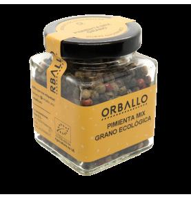 Mix Pimientas en grano Bio, Orballo (38g)  de Orballo